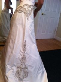 Priscilla Of Boston Platinum Wedding Dress