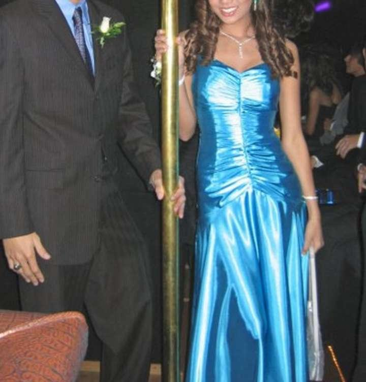 ... mcclintock formal dresses jessica mcclintock teal ruched rouched prom