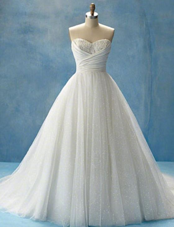 Alfred Angelo Disney Fairy Tale Cinderella 205 Wedding Dress