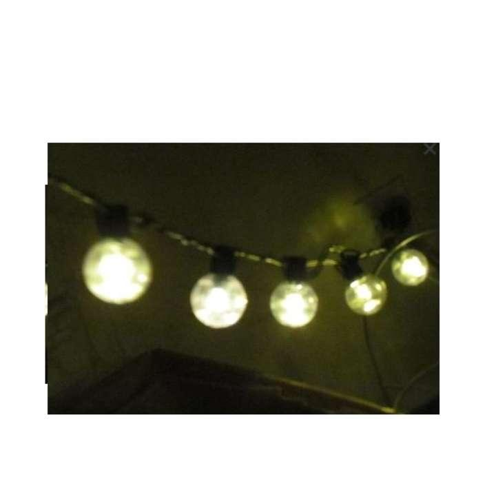 10 Sets Cafe Globe String Lights Led White 250ft 25% Off Tradesy Weddings