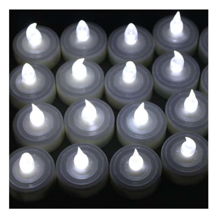 battery operated tea light led candles 98 27 off tradesy weddings. Black Bedroom Furniture Sets. Home Design Ideas