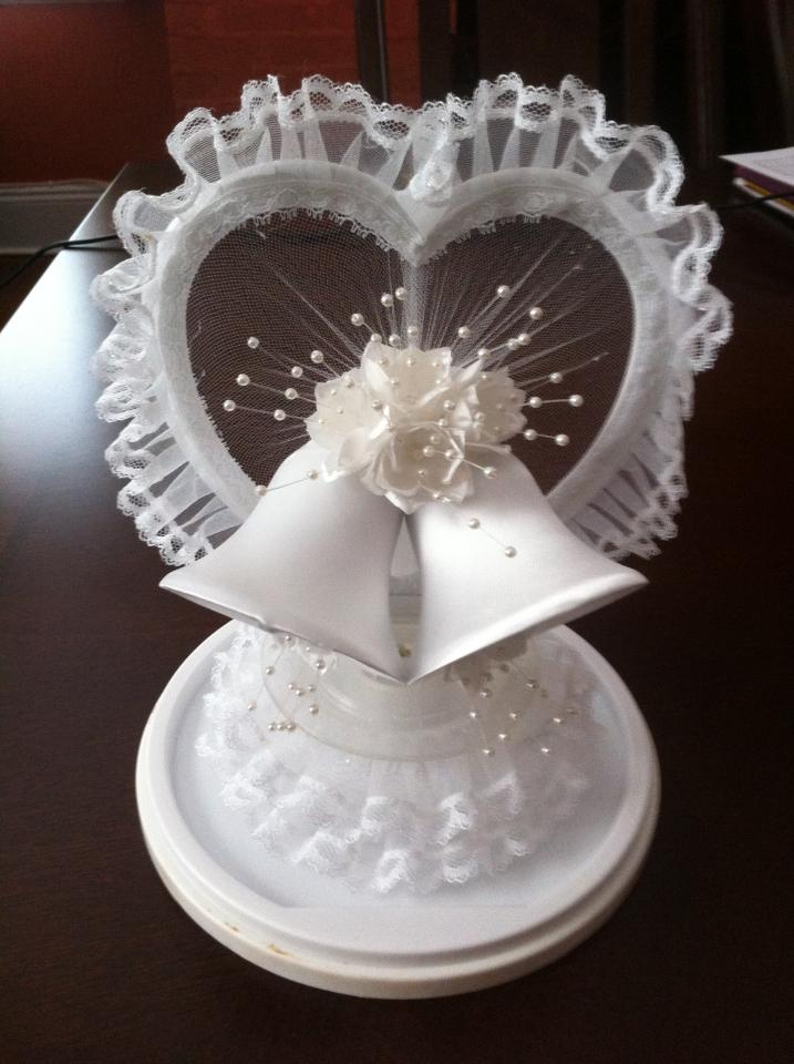 wedding cakes with bells wedding bells cake topper tradesy weddings 25978