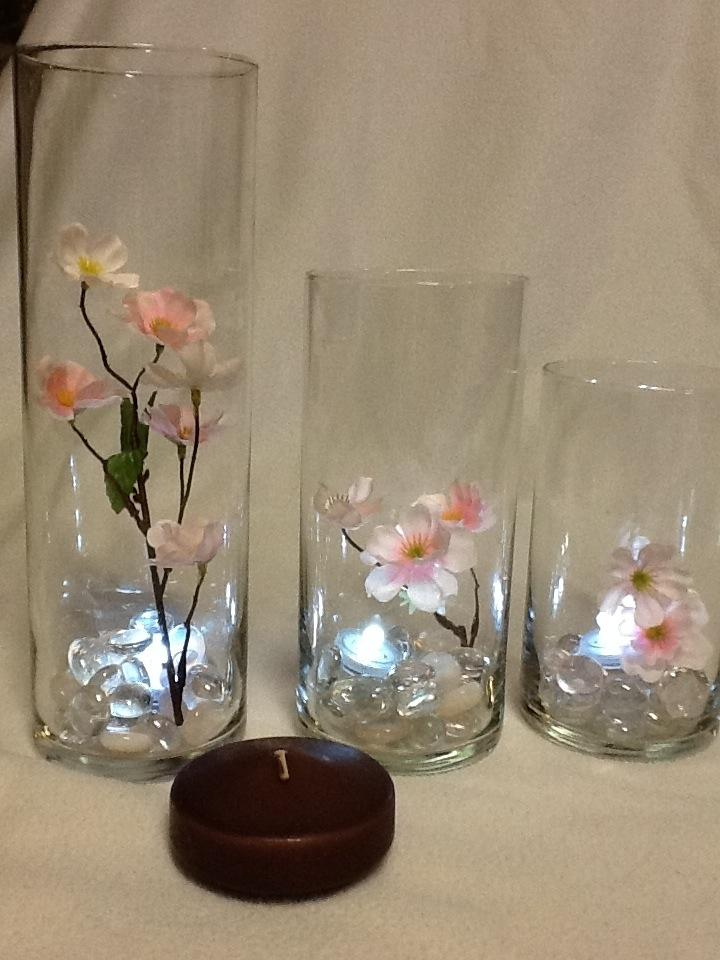 Cherry blossom vase centerpieces pending sale tradesy weddings