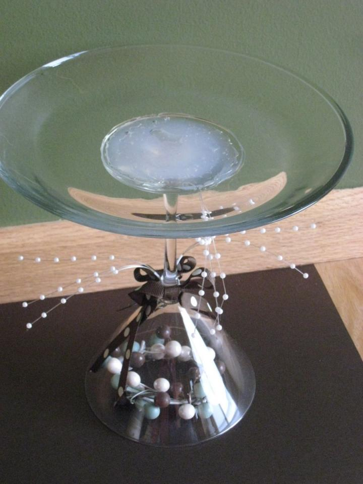 Martini glass cake stand centerpieces tradesy weddings