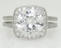 Ivanka Trump Ivanka Trump Platinum 950 0.83 Tcw Vs1 F Diamond Engagement Ring Setting R592