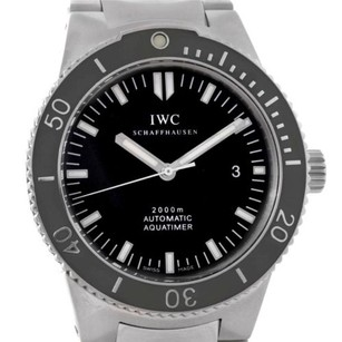 IWC Iwc Aquatimer Gst Automatic Stainless Steel Watch Iw353602