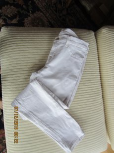 J Brand Denim Slim white denim Leggings