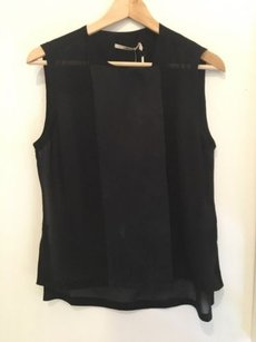 J Brand Sheer Minimalistic Top Black