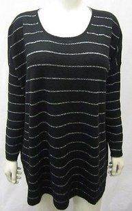J. Jill Black Silver Accent Sweater