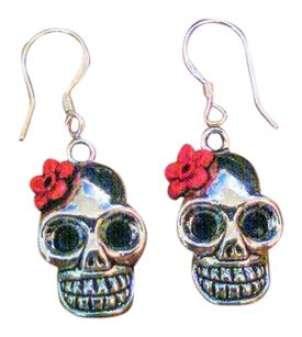 J Phillips Design Cute Skull Earrings