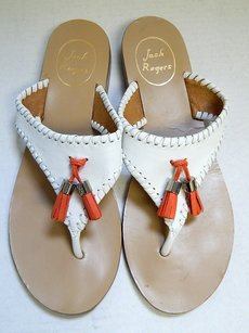Jack Rogers Alana White Sandals