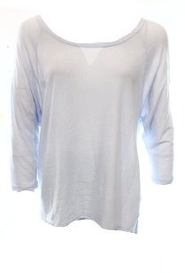 James Perse 100-cotton 3-4-sleeve Top