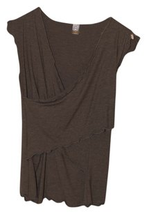 Japanese Weekend Nursing & Maternity Japanese Weekend Nursing Top, Short sleeve, Brown