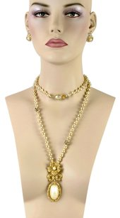 Jay Strongwater Jay Strongwater Pearl And Swarovski Necklace With Pedant