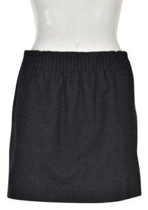 J.Crew Womens Speckled 0 Above Knee Causal Skirt Charcoal Gray