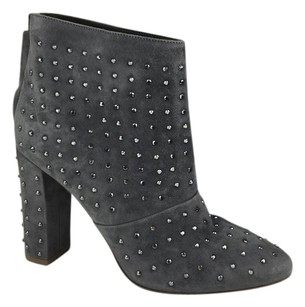 J.Crew Adele Suede Leather Grey Boots