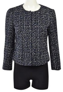 J.Crew J Crew Womens Blue Basic Multi-Color Jacket