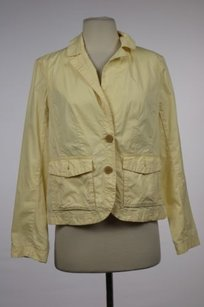 J.Crew J Crew Chino Womens Yellow Jacket