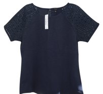 J.Crew Cotton Top Navy blue