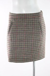 J.Crew J Crew Factory Wool Mini Mini Skirt Multi-Color