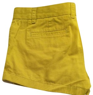 J.Crew Mini/Short Shorts yellow