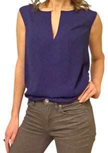J.Crew Sleeveless Night Out Date Night Work Attire Top Blue