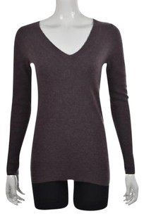 J.Crew Womens V Neck Speckled Long Sleeve Cashmere Sweater