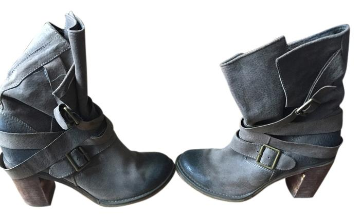Jeffrey Campbell Army Green Boots/Booties (M, Size US 8.5 Regular (M, Boots/Booties B) af5625