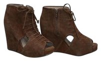 Jeffrey Campbell Brn Suede Brown Boots