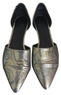Jenni Kayne Silk Shinny Multicolor Flats