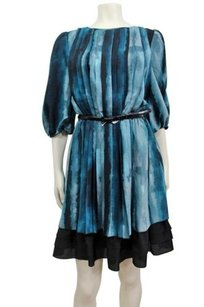 Jessica Simpson Printed Belted Dress