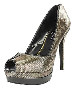 Jessica Simpson Good Womens gold Pumps