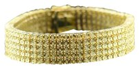 Other Mens Row .925 Sterling Silver Canary Diamond Bracelet Link Tennis Fanook Ct.
