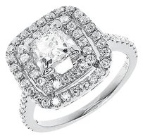 Jewelry Unlimited 14k,White,Gold,Ladies,Princess,Solitaire,Diamond,Engagement,Wedding,Ring,2.50,Ct