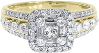 Jewelry Unlimited 14k,Yellow,Gold,Ladies,Princess,Round,Diamond,Engagement,Wedding,Ring,1.25,Ct