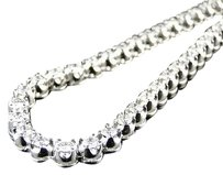 Jewelry Unlimited Mens,1,Row,Prong,Set,Real,Vs,Diamond,Chain,Solitaire,Necklace,24,Ct