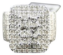 Jewelry Unlimited 14k,Xl,Ladies,White,Gold,Princess,Diamond,Fashion,Engagement,Wedding,Ring,2.2,Ct
