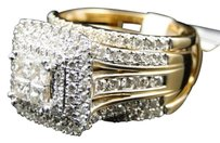 Jewelry Unlimited 14k,Yellow,Gold,Diamond,Engagement,Wedding,Bridal,Band,Ring,With,Jacket,2.01,Ct