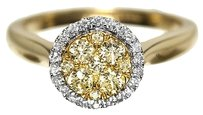 Jewelry Unlimited Ladies,Yellow,Canary,Diamond,Engagement,Band,Ring,In,14k,Yellow,Gold,With,.46,Ct