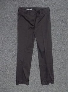 Jil Sander Straight Legged W Cuffed Hem Blend 1606a Pants