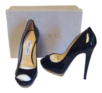 collections online Jimmy Choo Thor Peep-Toe Pumps outlet choice great deals osCC16RY
