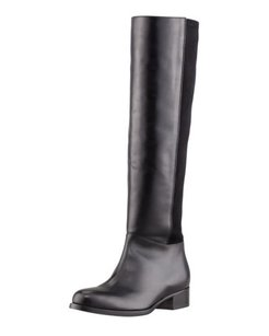 Jimmy Choo Brava Fitted Black Boots