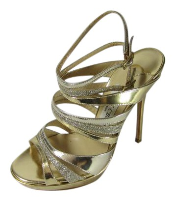 Jimmy Choo Caged Multistrap Sandals cheap brand new unisex cheap pay with visa 100% original cheap online sale 100% original 1csDlPNp72
