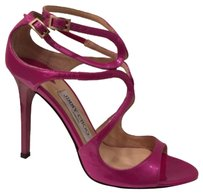 Jimmy Choo Jazz Berry Fuchia Sandals