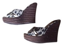 Jimmy Choo print Wedges