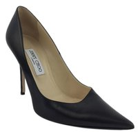 Jimmy Choo Pointy Toe Classic Leather Black Pumps