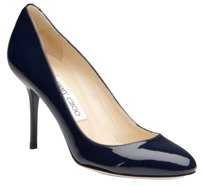 Jimmy Choo Gilbert Blue Platforms