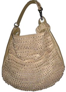 Jimmy Choo Studded Silver Hw Hobo Bag