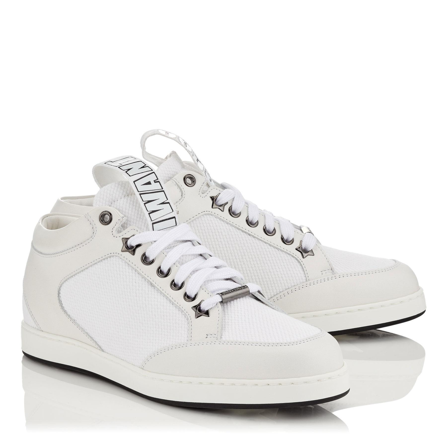 White Jimmy Choo Sneakers Up To 90 Off At Tradesy