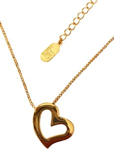 JLo JLO Heart Necklace